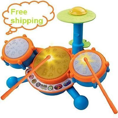 Electric kids Drum set, Best music educational learn toys Toddler children  gift