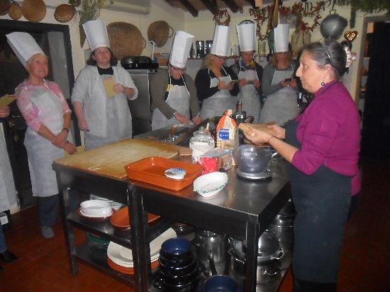 Castello della Paneretta Agriturismo Cooking Class - my FAVOURITE place in the world... Patrizia e Massimo's Kitchen in Tuscany..!!!!!