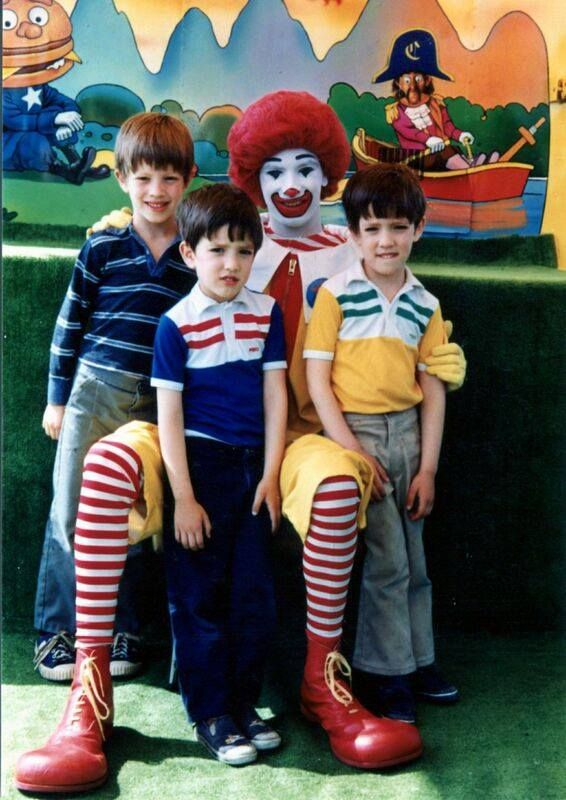 #TBT Just another day hanging with our uncle McDonald's :) @mrsilverscott @mrjdscott