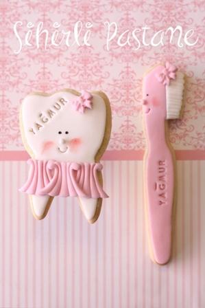 Sihirli Pastane - Diş Buğdayı Kurabiyeleri - Butik Pasta, Kurabiye, CupCake ve CakePop yapıyorlar.