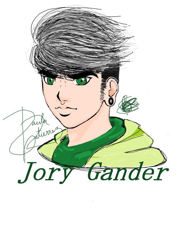 Jory Gander, OC de Ayshane. 17 años, 7 de noviembre de 2283.  Escuadrón Leviathan. Segundo puesto, estratega, rango a2.