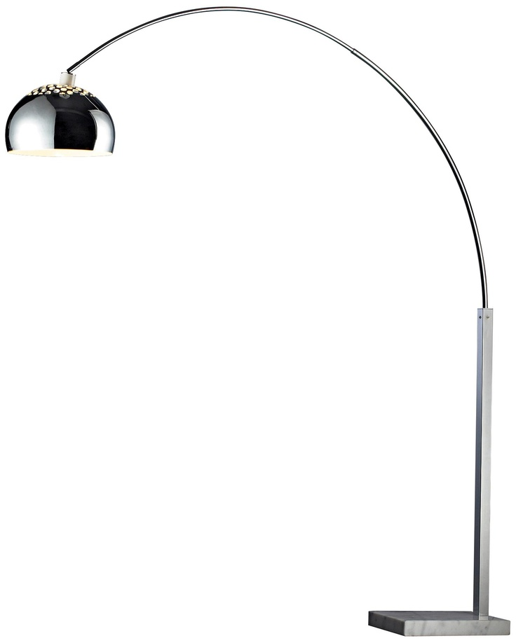 14 best 1m office lighting arc floor lamps images on pinterest pacey silver plated arc floor lamp aloadofball Gallery