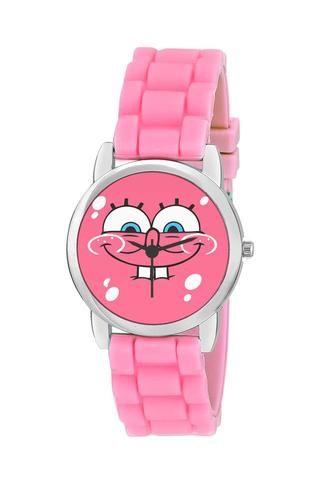 Kids Wrist Watch India |Spongebob Cute Illustration Kids Wrist Watch Online…