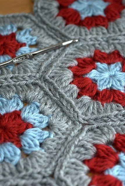 Hexagons| http://cuteblankets.blogspot.com