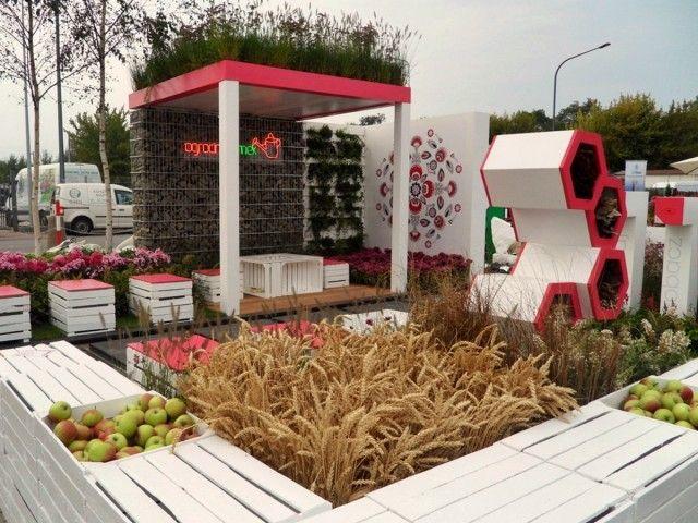 """Nasz ogród pokazowy na wystawie """"Zieleń to Życie"""" 2013"""