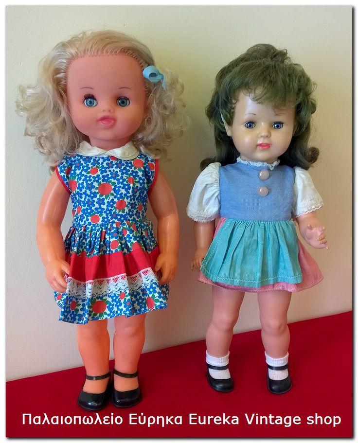 2 vintage κούκλες