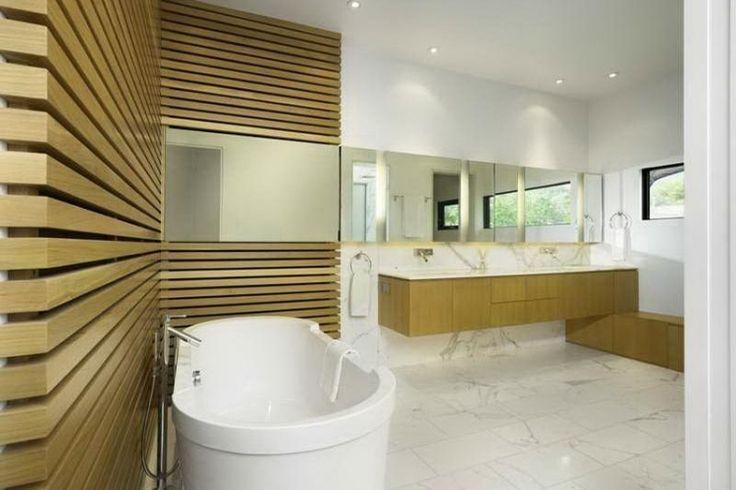 Rev tement mural salle de bain 55 carrelages et alternatives rev tements muraux d coration - Revetements muraux salle de bain ...