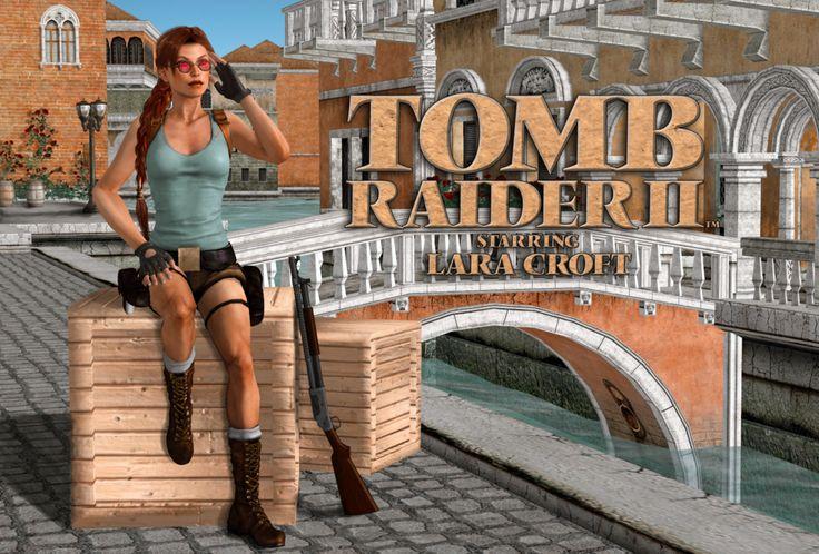 Tomb Raider II: Starring Lara Croft by mandusmachine
