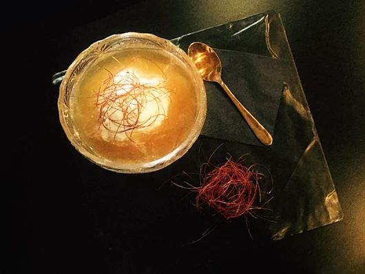 """Our New Summer Signature Cocktails are here by Barevolution   Explore them all at #ElakatiKitchenBar   #MustTry """"Vrachos"""" Spiced rum, coffee flavored Vodka, vanilla syrup and coconut iced cream.  Cheers to Summer #Elakatales  #OnTripAdvisor #Rhodes #Greece"""