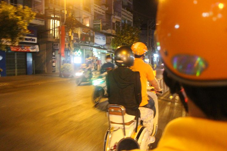 Vespa Tour - Ho Chi Minh City - Vietnam