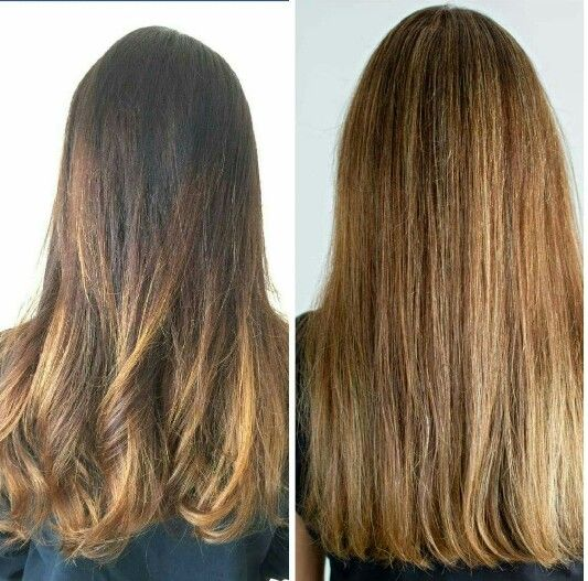From Ombre to half a head of foils to blend in the greys ....