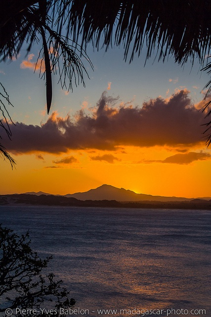 Sunset on Fort Dauphin, Madagascar