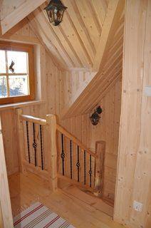 Casa scarii la etaj