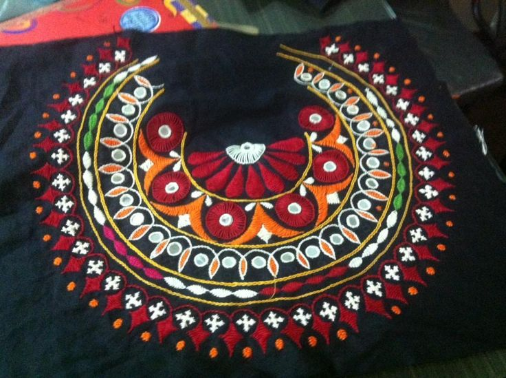 Stunning piece of Kutch Embroidery