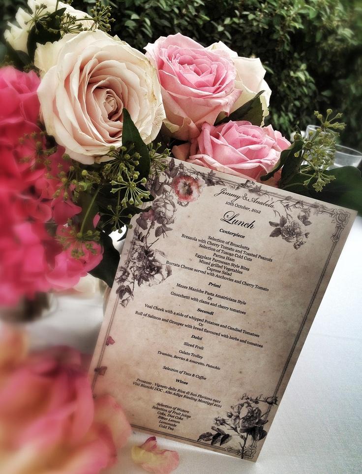 Lunch table, La Rosa Canina FIRENZE