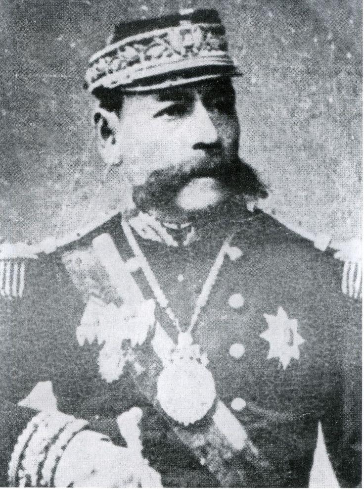 GENERAL NARCISO CAMPERO Jefe de la 5ª Div , y posterioremente Presidente de Bolivia