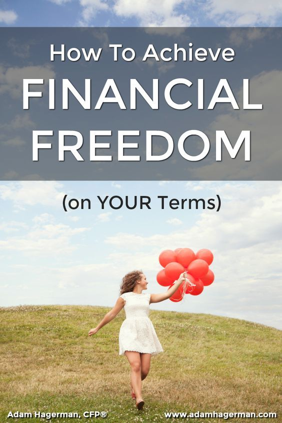 Find out how to define financial freedom based on YOUR goals and learn how to achieve it in the shortest amount of time possible. via @adamhagerman