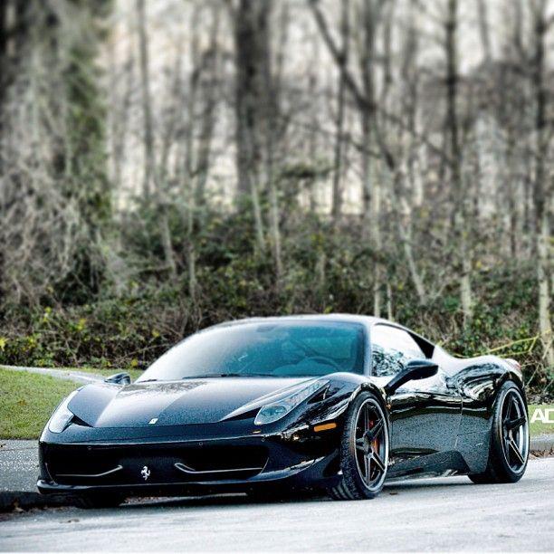 Black Ferrari 458 Italia                                                                                                                                                                                 More