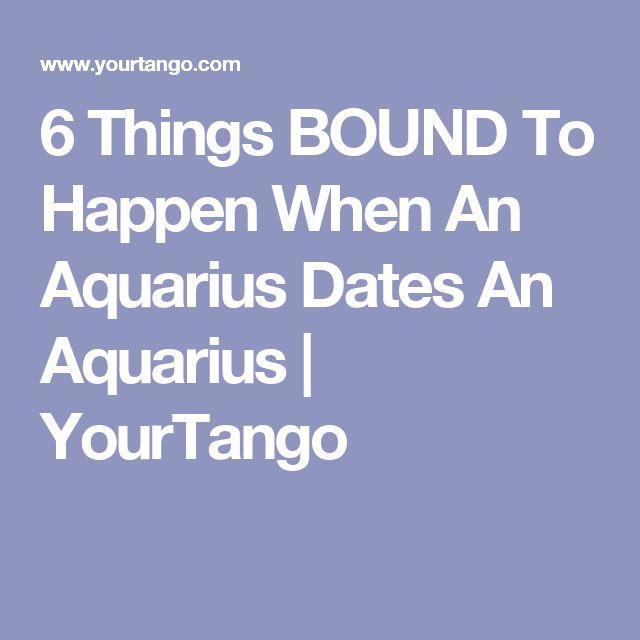 6 Things BOUND To Happen When An Aquarius Dates An Aquarius | YourTango