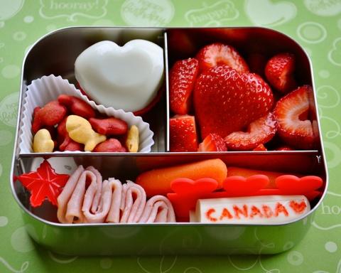 Canada Day Bentos, Eh!