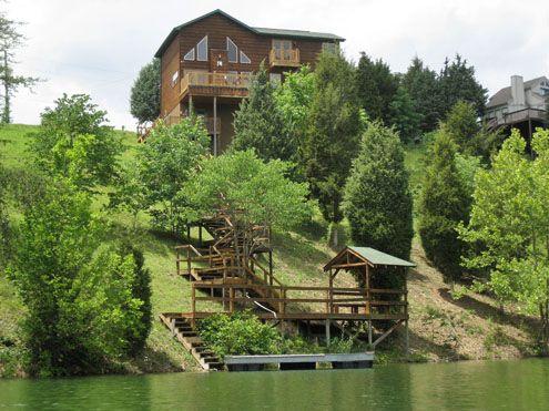 Lakeside Mountain Hideaway 1 3 Bedroom 2 Bathroom Cabin Rental In Pigeon Forge Tennessee