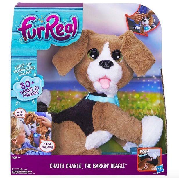 Furreal Chatty Charlie The Barkin Beagle Interactive Puppy
