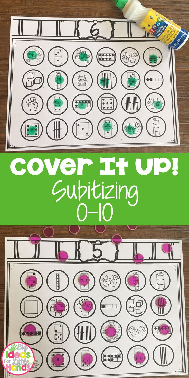 Have you ever needed a quick warm-up activity to use during Guided Math while you are getting the rest of the class settled into their activity? Well look no further, these cover up games are perfect to have your students immediately get started learning while you on your way to them. No more wasted time while they wait on you!  This pack is to help students with identifying numbers in various configurations, subitize. There are 5 different sheets for each number 0-10 so each student at your…