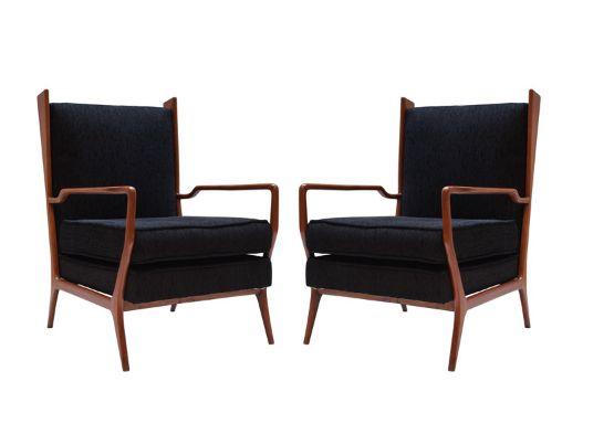 Pair of Rino Levi armchairs. http://www.1stdibs.com/