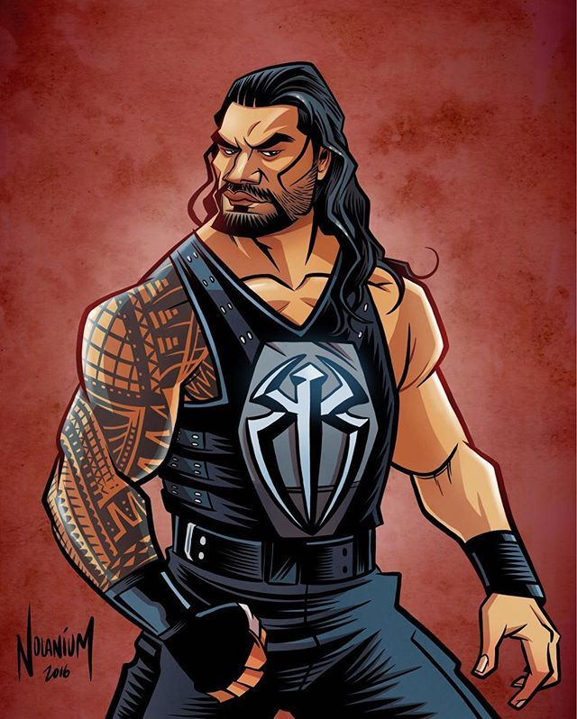 Drawing-up Roman Reigns. #illustration #wwe #wwefanart #romanreigns #wrestlingart #wweraw #theshield #romanempire #digitalart #ipadart #autodesksketchbook #draw #drawing #instagood #instaart #instaartist #artoftheday #pnwcreatives #overthelineart #artistsoninstagram #wweroadblock #roadblock #seattleart #seattleartist #prowrestling #wweart