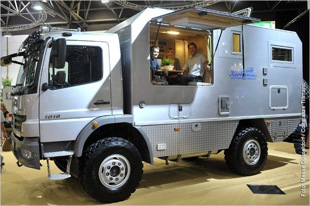 2010: Mercedes-Benz Atego 1018. Camper. | #> https://de.pinterest.com/acast1175/survival-vehicles/