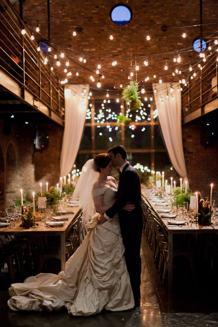 Romantic Wedding at the Foundary | See more on #SMP Weddings: http://www.stylemepretty.com/2013/03/12/long-island-city-wedding-from-mademoiselle-fiona-firefly-events/ Mademoiselle Fiona Photography