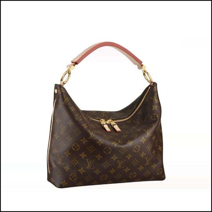 #LOUIS #VUITTON If You Love Louis Vuitton Sully PM Brown Top Handles, Please Come Here To Buy More.