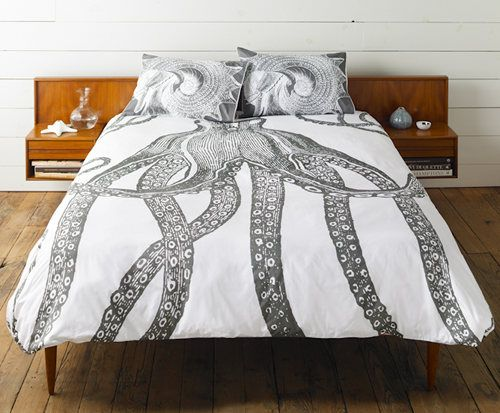 I am OBSESSED with this bedding.  Not for sale yet but I'm sure it'll be way out of my price range.  Think I could DIY it?!