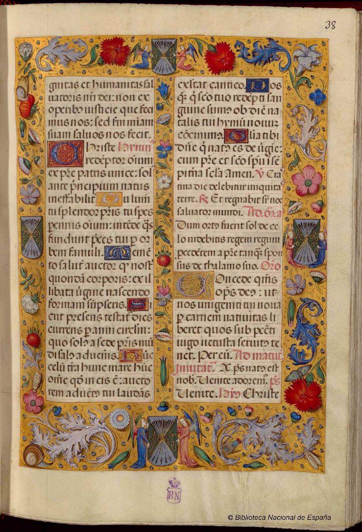 Título Breviario de Isabel la Católica Fecha 1495?