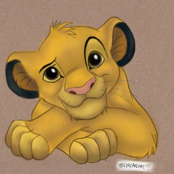 Simba Lion King Drawing Digital Art Procreate