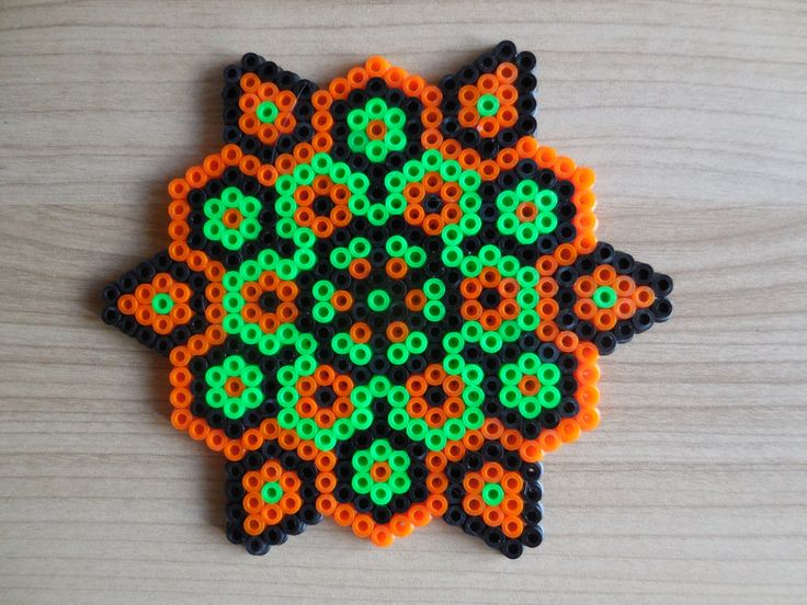 Inspired Halloween Ornament Hama Beads by TCAshop