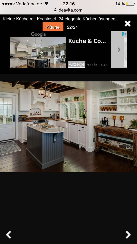 Küchenlösungen Für Kleine Küchen U Form. Ikea Küche Instagram Mit ...