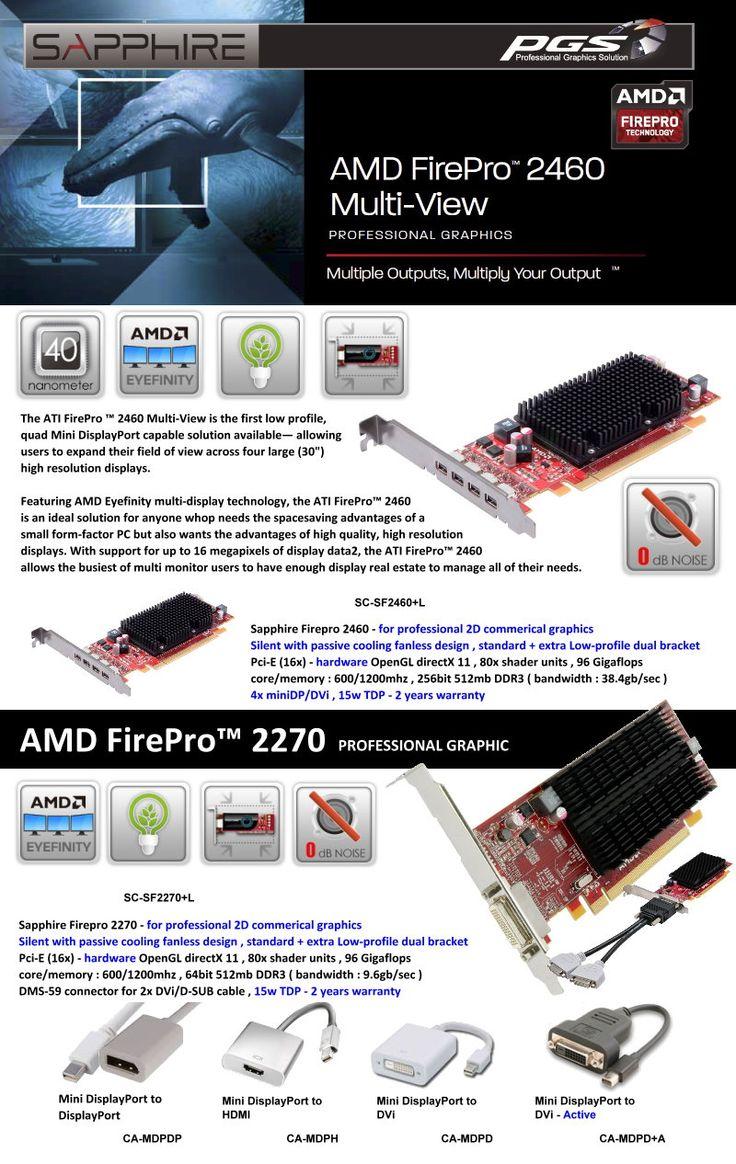 AMD FirePro 2460 Multi-View