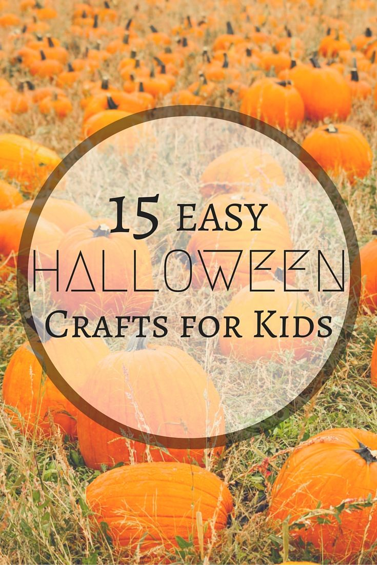 15 Easy Halloween Crafts for Kiddos! Adorable ideas for Halloween party decor and more... | Relish.com