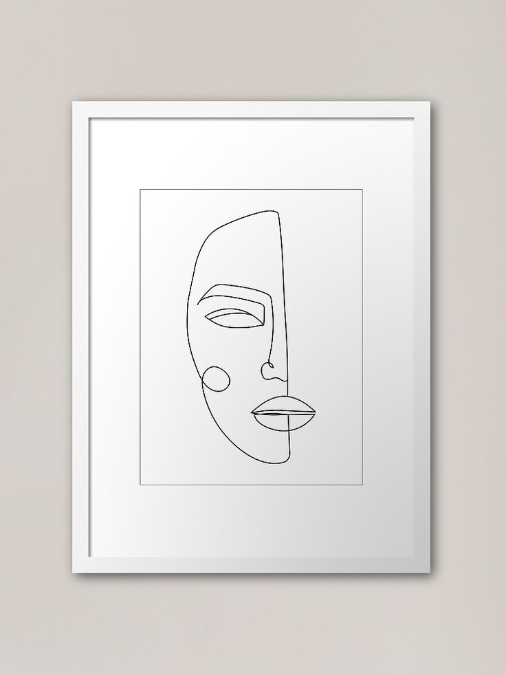 minimalist art prints framed
