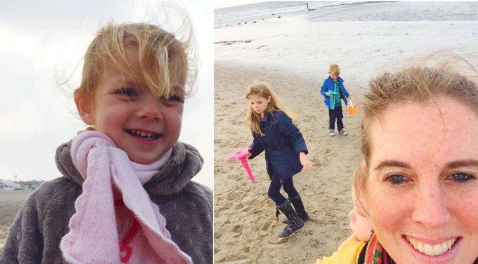 9 activiteiten om doen met kinderen op het strand in de herfst