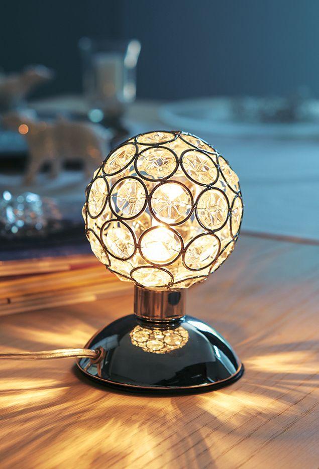 Lampe sensitive Strass