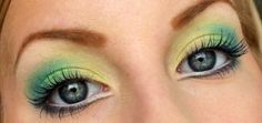 Яркий макияж для серых глаз ::: onelady.ru ::: #makeup #eyes #eyemakeup