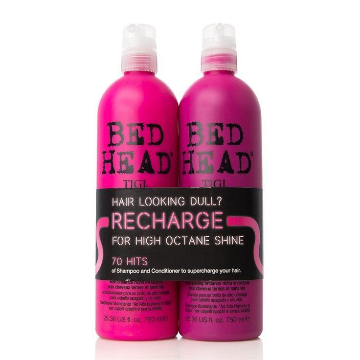 Tigi Bedhead Recharge - High-Octane Shine Shampoo og Balsam 2x750ml (Duo) fra BliVakker. Om denne nettbutikken: http://nettbutikknytt.no/blivakker-no/