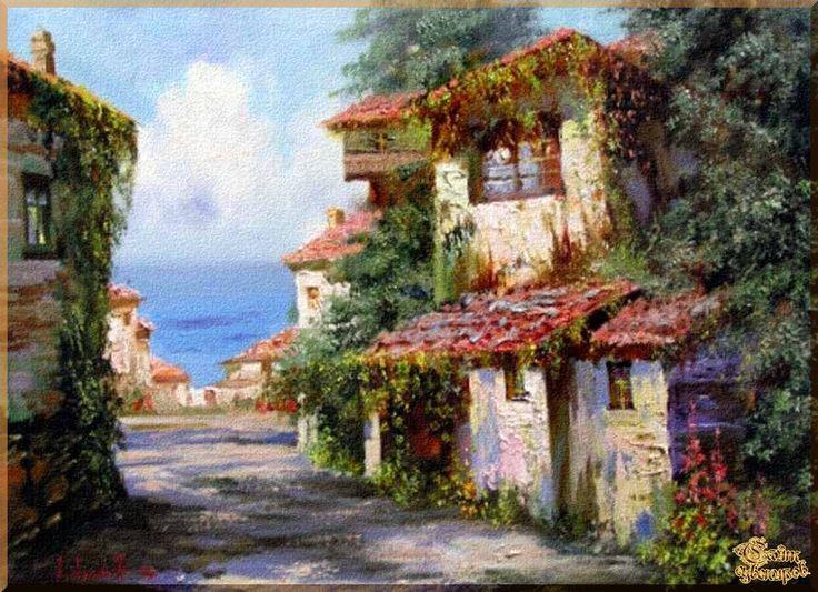 Mediterranean - 129 Средиземноморье, картины, подарки