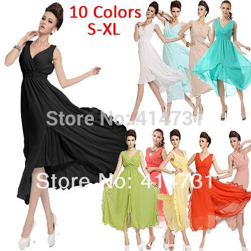 новый бренд стиль ёенщины 2014 v шеи старинные платья партии вечером элегантный макси платья долго женщин летняя одежда сарафаны зеленый fженские платьялетнииженская одежда больших размеров одежда женская летние платье