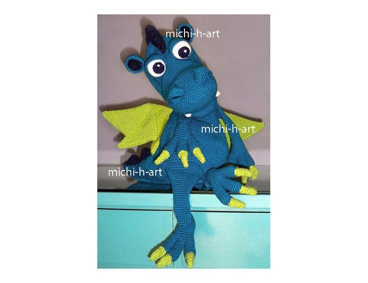 13 besten Drache Dragon Bilder auf Pinterest   Drachen, Häkeln und ...