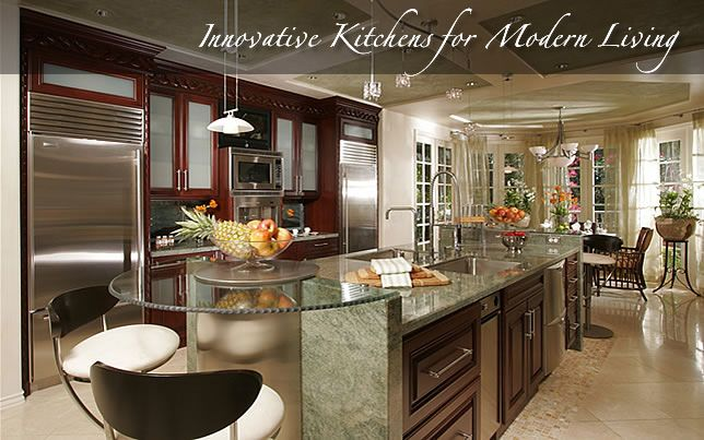 18 best images about kitchen on pinterest ux ui designer granite countertops colors and - Modern kitchen cabinets orange county ...