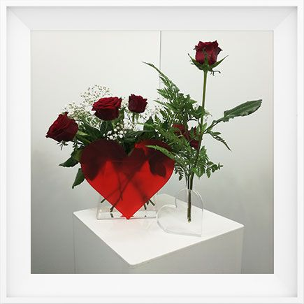 The Cambrian Valentines Vases offers distributors an  opportunity to wow customers with a one of a kind design. The vases are designed to be watertight and easy to clean.  All vases are fabricated to order, from quality products and  100% hand made in New Zealand.   Please inquire through our website.  http://cambrianplastics.co.nz/