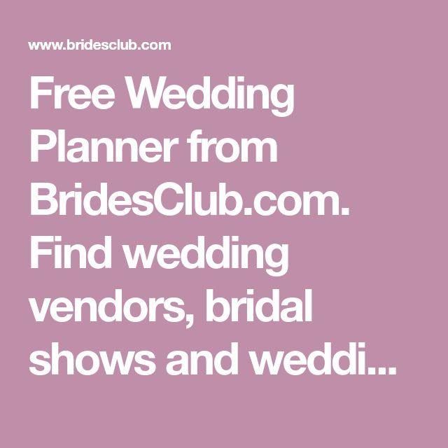 Best 25 wedding vendors ideas on pinterest wedding advice free wedding planner from bridesclub find wedding vendors bridal shows and wedding junglespirit Gallery